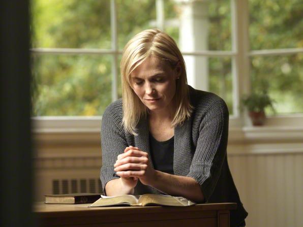 Sister praying