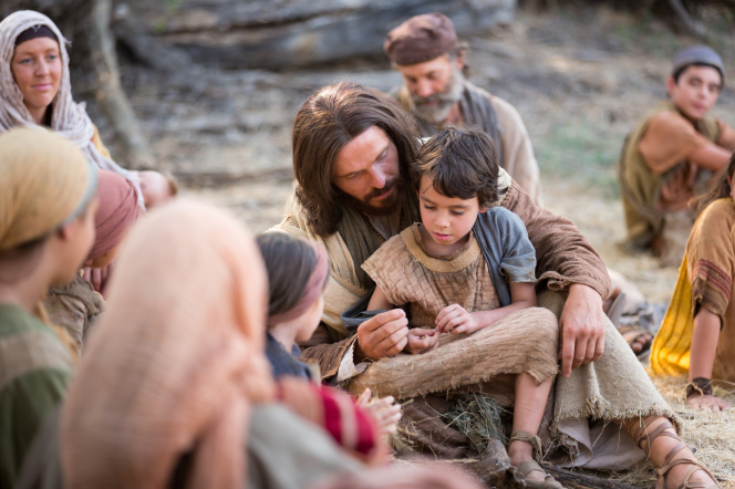 jesus blesses a child-1126923-gallery