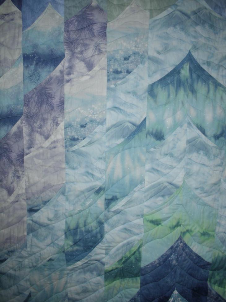 Glaciers quilt