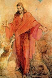 Christ in His Red Robe actual